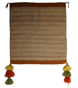 "Navajo : Twill Single Saddle Blanket Style :  SG 46 : 29""  x 32"""