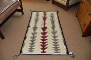 Navajo Double Saddle as a floor rug