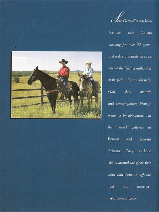 Book:  Treasures of the Navajo Horsemen - Books - Books- Navajo Rugs - Navajo Textiles