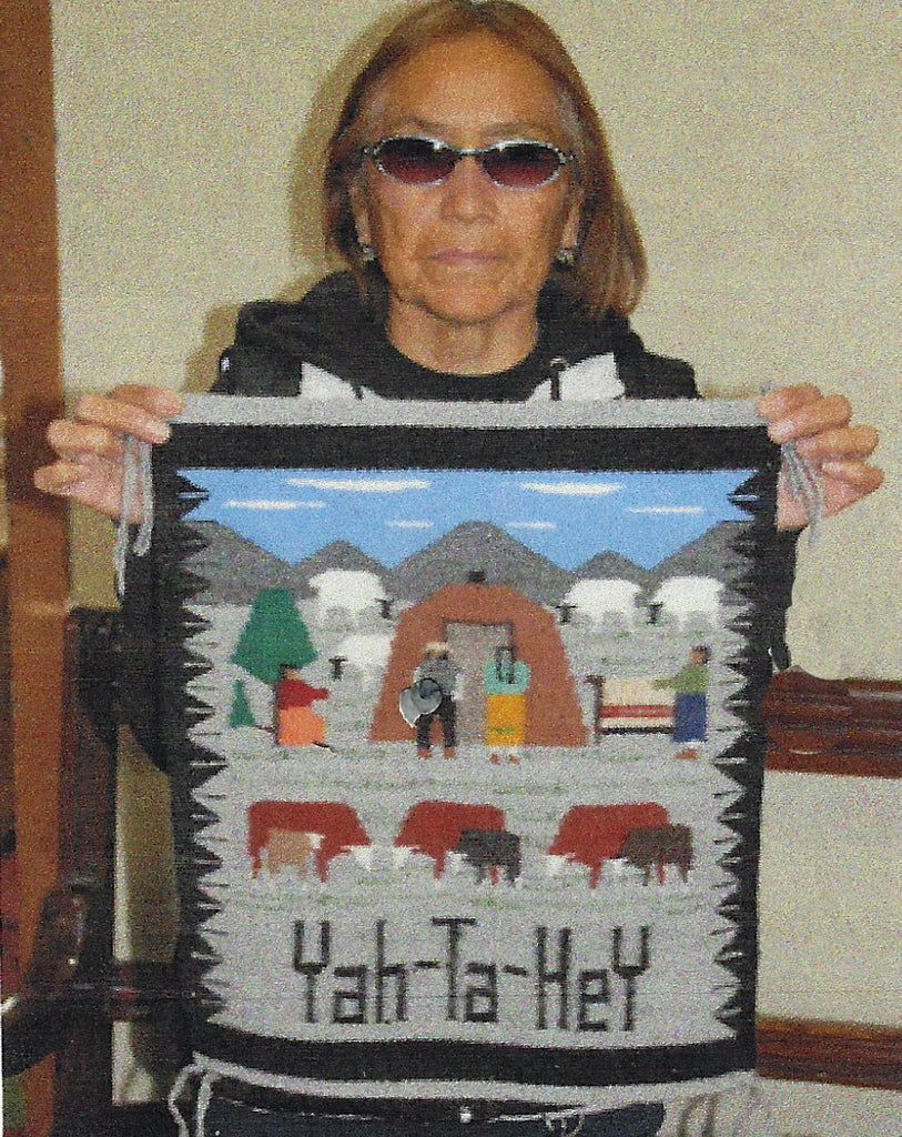 Many Farms Navajo Rug : Ella Begay : 3345 - Getzwiller's Nizhoni Ranch Gallery