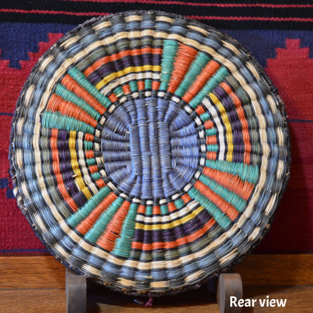 Basket : Hopi Wicker Plaque : Basket 8 - Getzwiller's Nizhoni Ranch Gallery