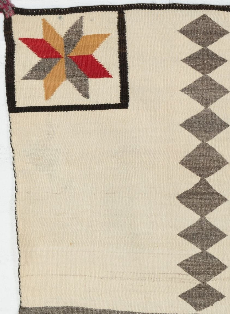 Saddle blanket - Double Navajo Weaving : Historic : PC 38 - Getzwiller's Nizhoni Ranch Gallery