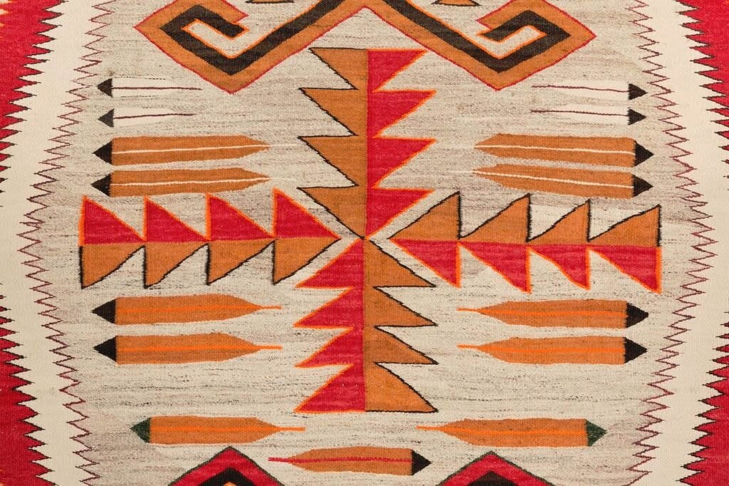 Teec Nos Pos Navajo Rug Weaving : Historic ; PC-80 - Teec Nos Pos - Historic Collection- Getzwiller's Nizhoni Ranch Gallery - NavajoRug.com
