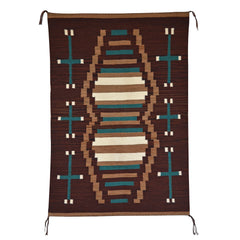 Crystal - Old Style Navajo Weaving : Louise Reed : Churro 1034