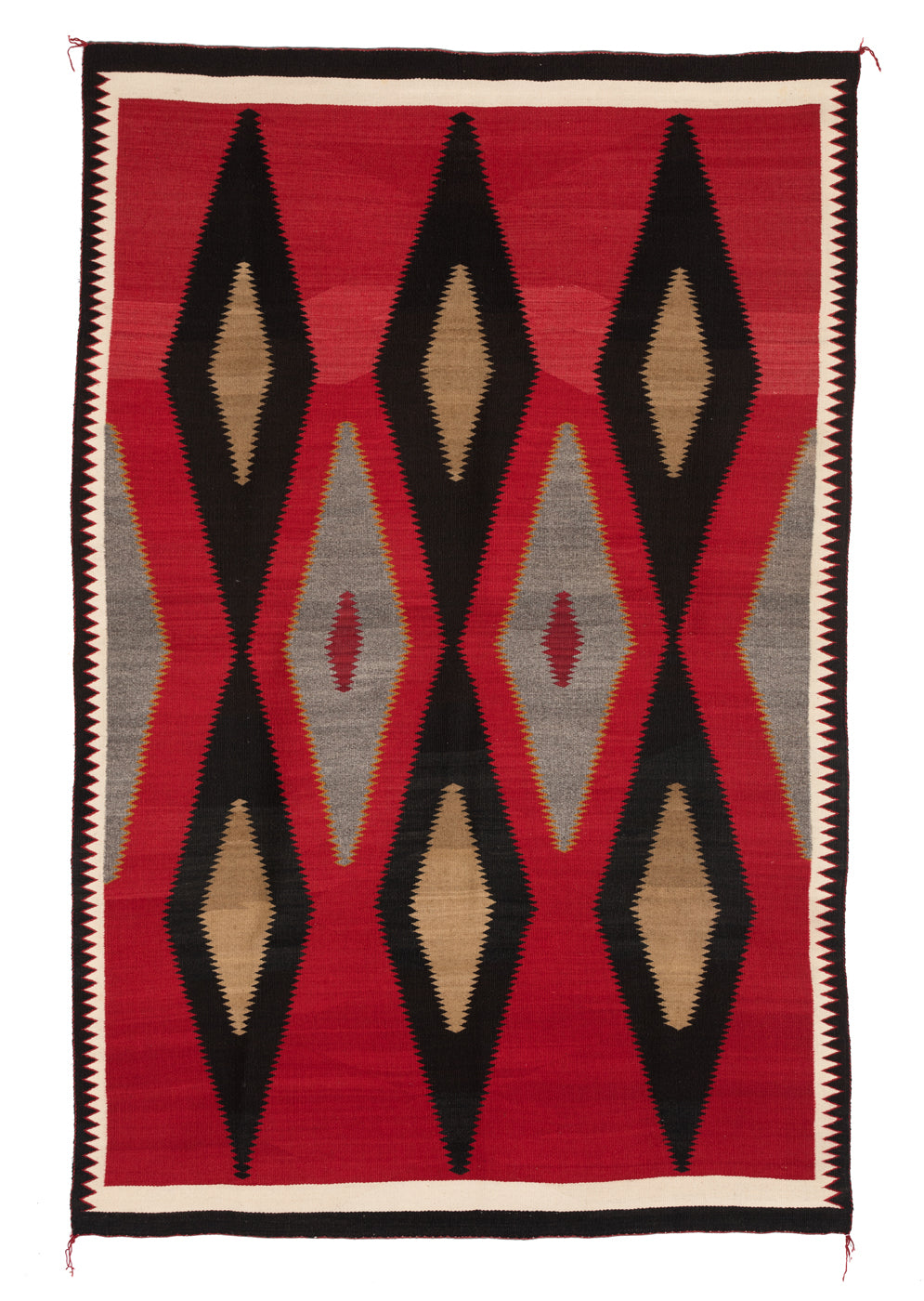 Historic Crystal Navajo rug