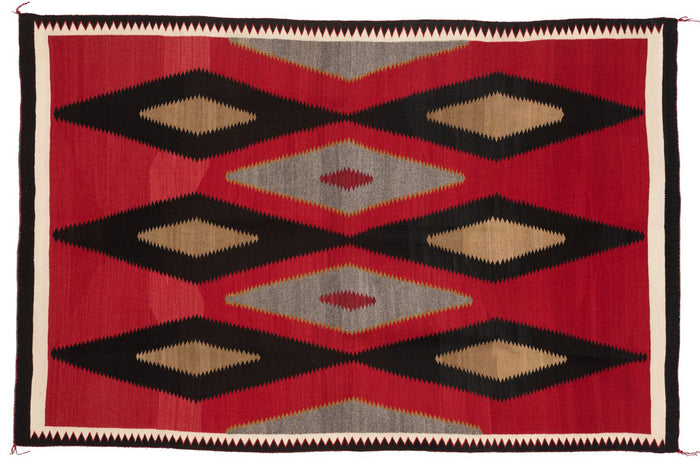 Old Style Crystal Navajo Weaving : Historic : PC 113