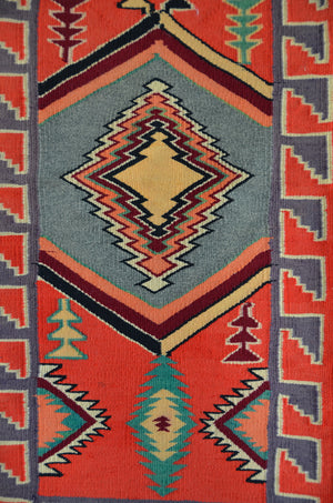 HOLD Antique Sampler-Germantown Navajo Rug : Historic : GHT 2315 - Getzwiller's Nizhoni Ranch Gallery