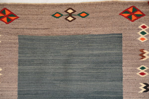 Double Saddle Blanket : Historic Navajo Weaving : PC 188 - Getzwiller's Nizhoni Ranch Gallery