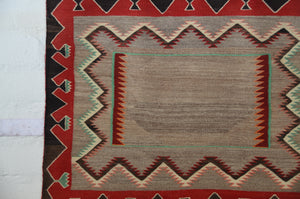 Double Saddle Blanket : Historic Navajo Weaving : PC 192 - Getzwiller's Nizhoni Ranch Gallery