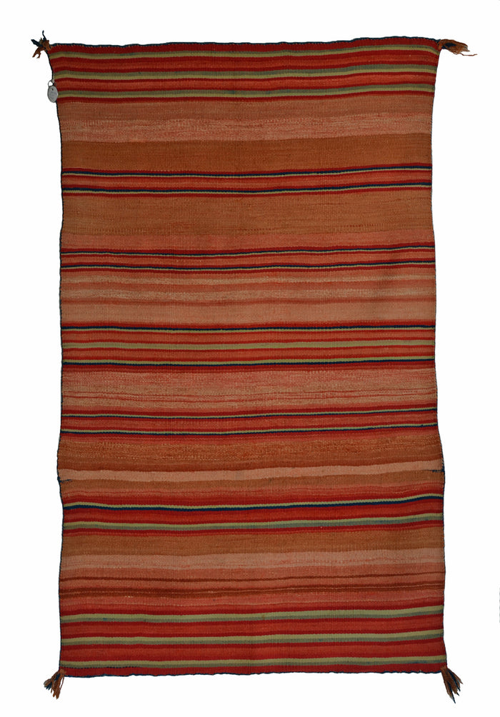 Late Classic Blanket : Historic Navajo Weaving : PC 202 : 31″ x 52″