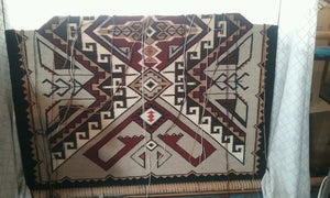 Teec Nos Pos Navajo Rug: Ava Tsosie : Looming Attractions - Getzwiller's Nizhoni Ranch Gallery