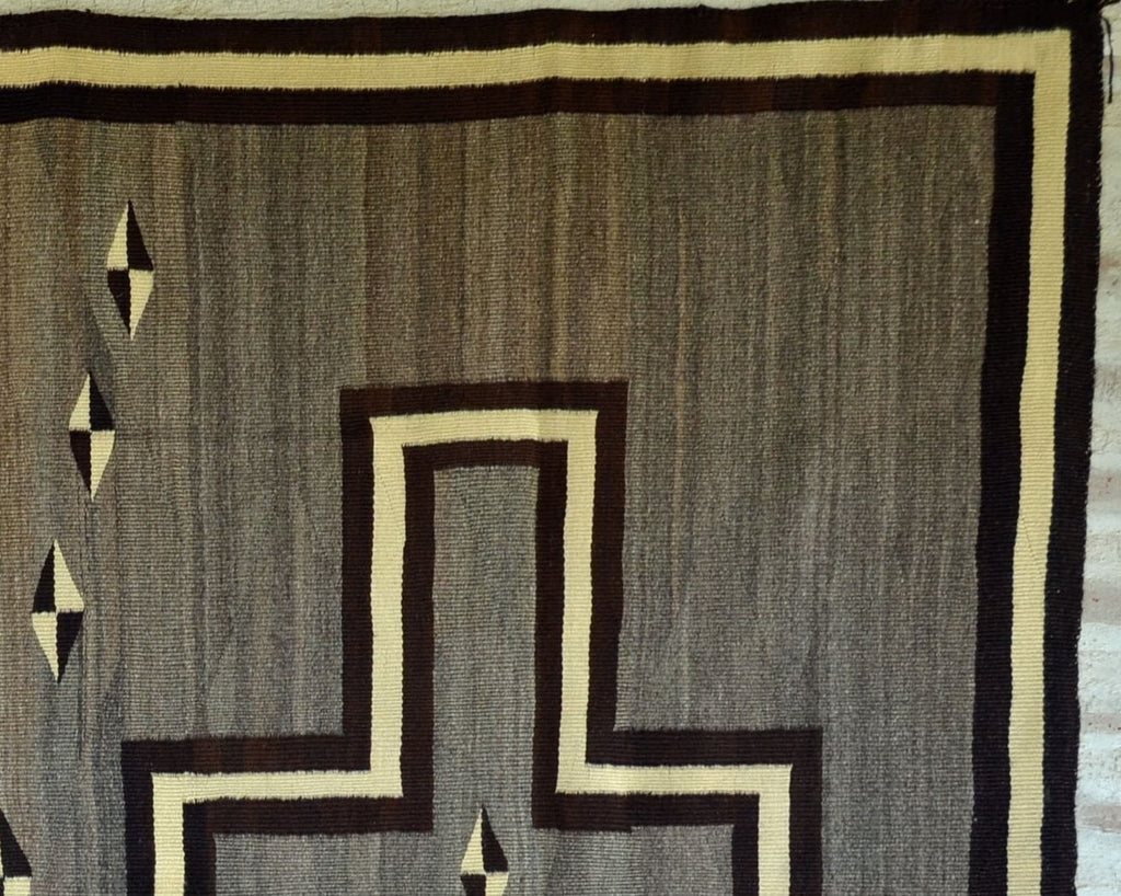 SOLD Transitional Navajo Weaving : Historic : GHT 2243