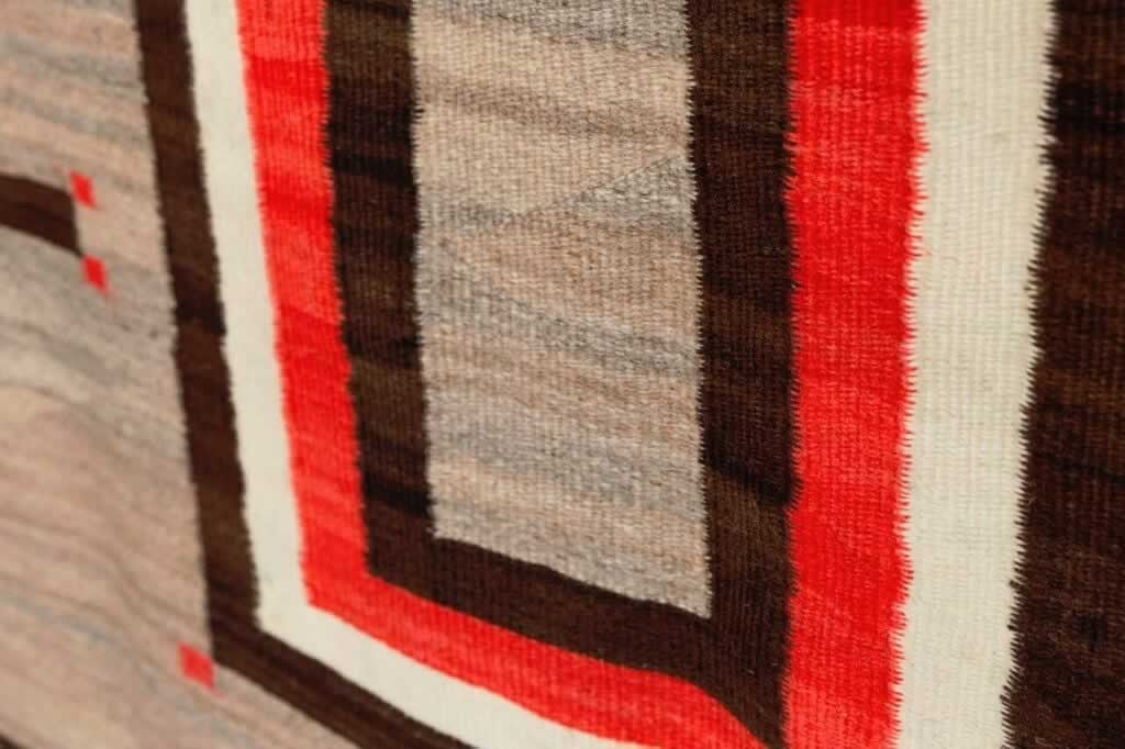 Pictorial - Hubbell Cross Navajo Weaving : Historic : GHT 2180 - Getzwiller's Nizhoni Ranch Gallery