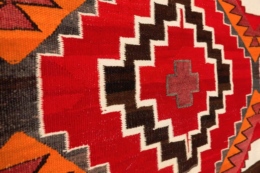 3rd Phase Chief Blanket Navajo Weaving : Historic : PC 72 - Getzwiller's Nizhoni Ranch Gallery
