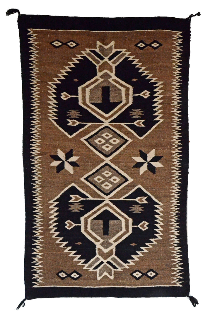 "Bistie Double Saddle Blanket : Historic : GHT 2308 : 30"" x 50"""