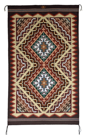 Burntwater Navajo Weaving : Cara Gorman : 3383