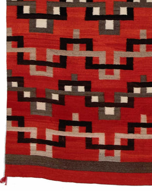 HOLD Transitional Navajo Weaving : Historic : GHT 1950 - Getzwiller's Nizhoni Ranch Gallery