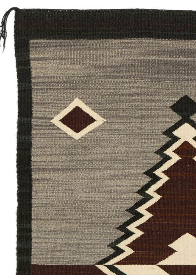 Optical Navajo Weaving : GH : Churro 1511 - Getzwiller's Nizhoni Ranch Gallery