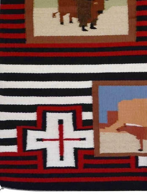 Pictorial - American Indian Weaving : Leroy Yazzie : 1897 - Getzwiller's Nizhoni Ranch Gallery