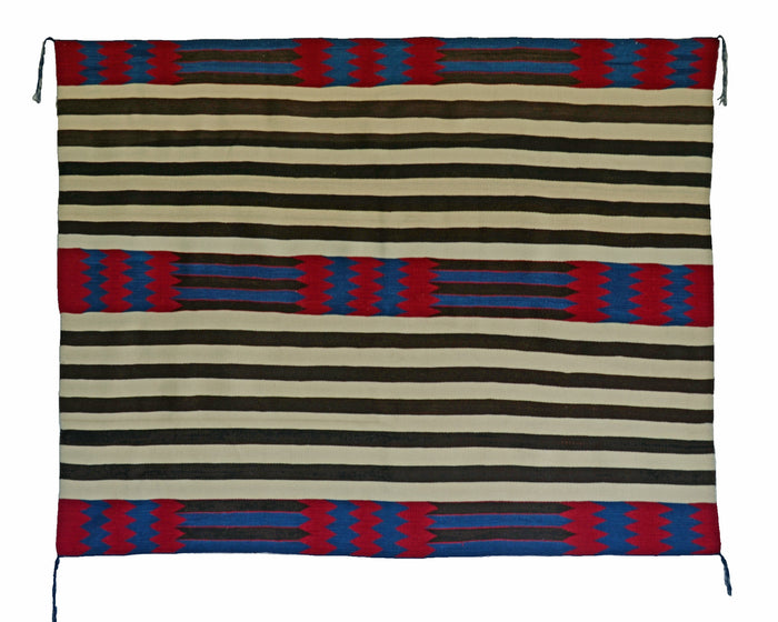 2nd Phase Navajo Chief Blanket : Jalucie Marianito : Churro 1561