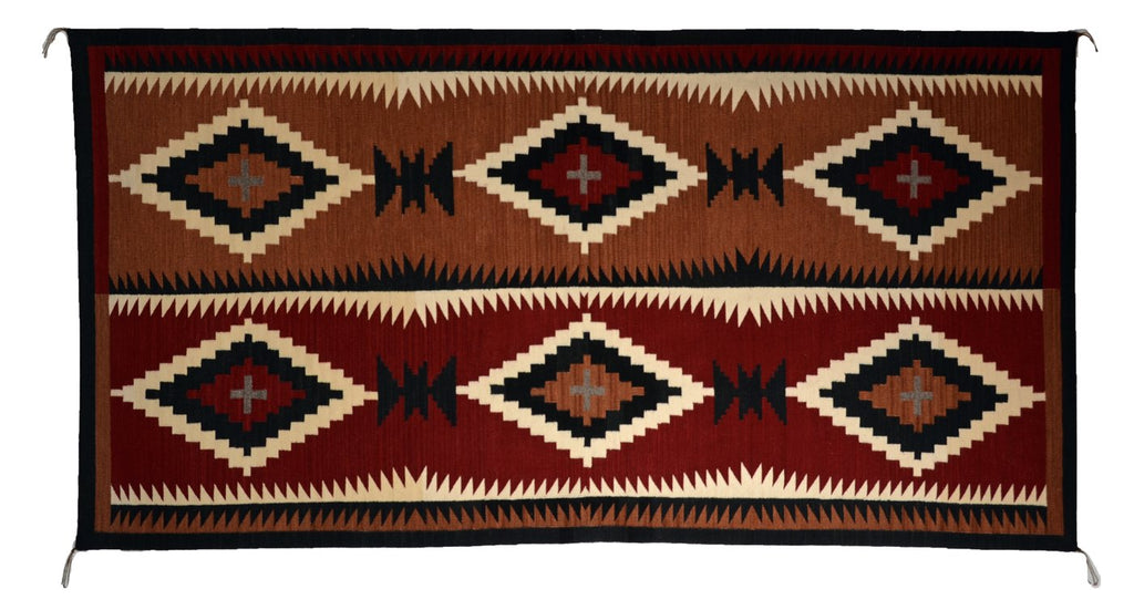 Native American Indian Rug Old Style Crystal Elsie Bia
