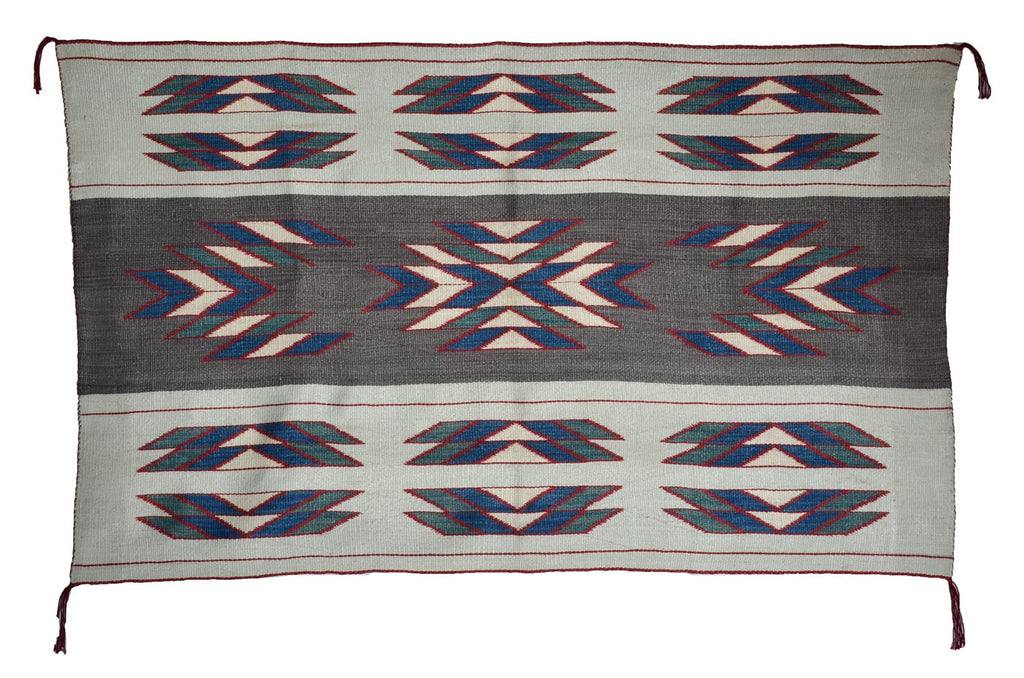 American Indian Blanket Woman's Manta bombyx silk