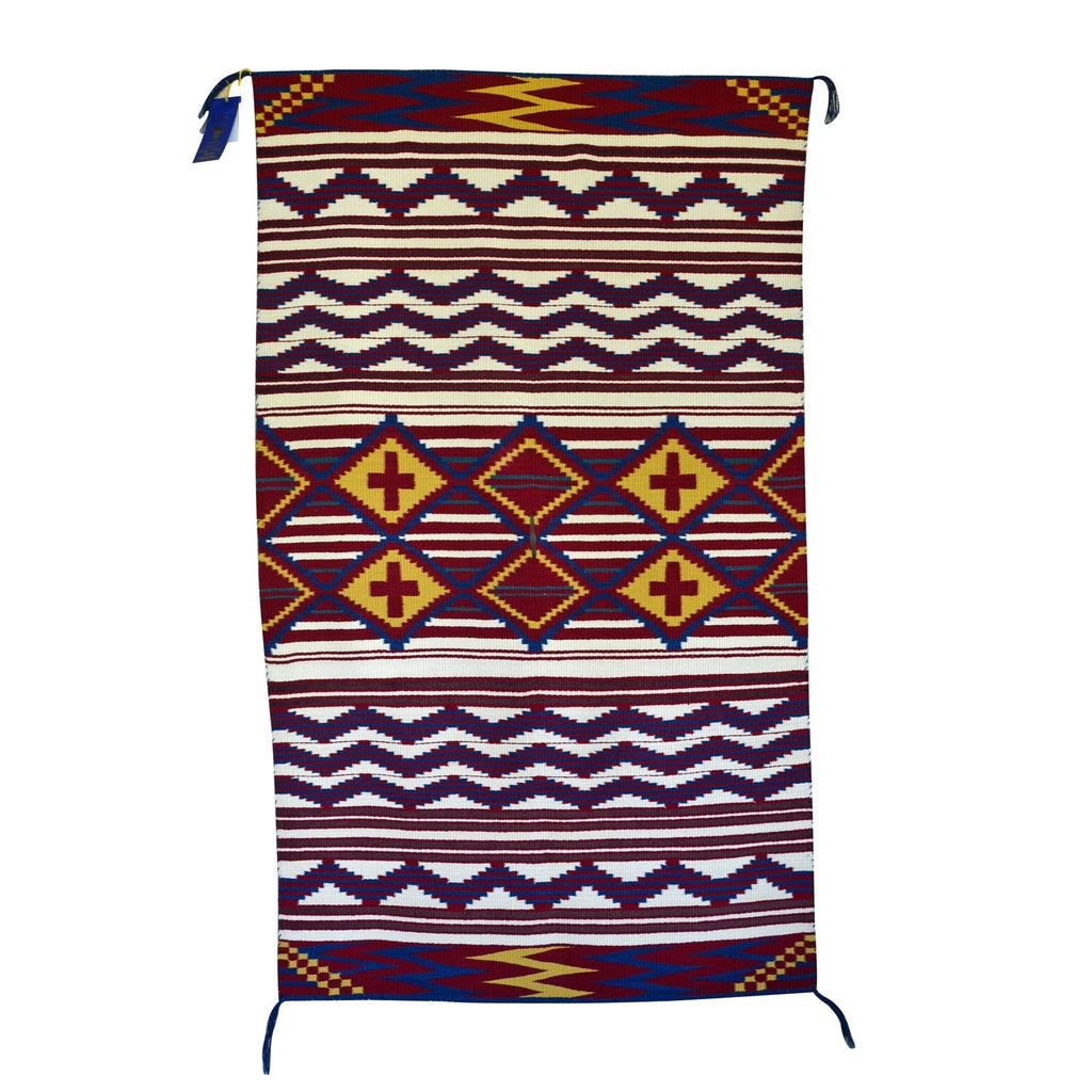 Serape Child's Blanket : Lucie Marianito : Churro 1309 - Getzwiller's Nizhoni Ranch Gallery