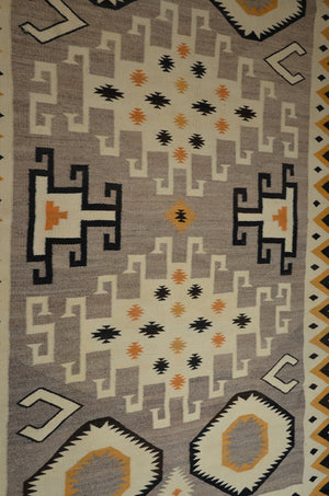 "Crystal Navajo Rug : Historic : GHT 2313 : 56.5"" x 79"" - Getzwiller's Nizhoni Ranch Gallery"