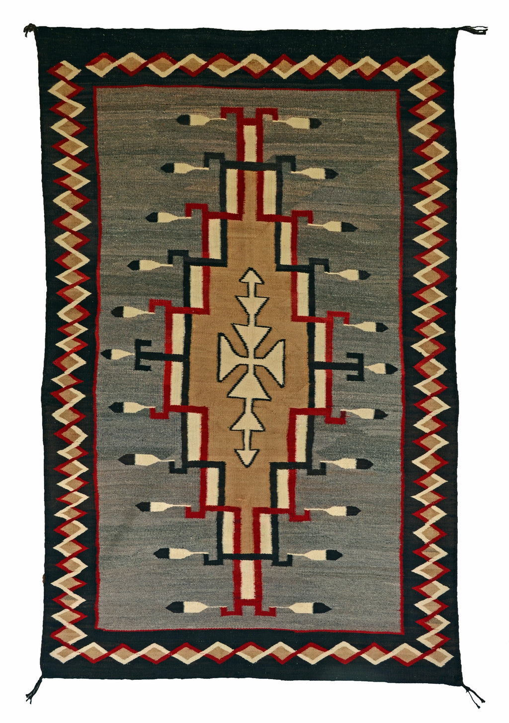 Crystal Pictorial Navajo Weaving : Historic : GHT 2239 - Getzwiller's Nizhoni Ranch Gallery