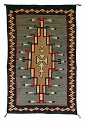 Crystal Pictorial Navajo Weaving : Historic : GHT 2239