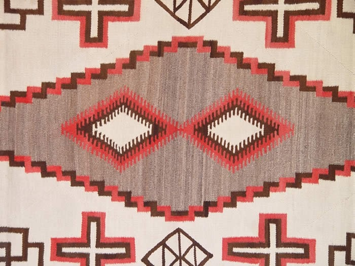 Crystal Navajo Weaving : Historic : GHT 549 - Getzwiller's Nizhoni Ranch Gallery