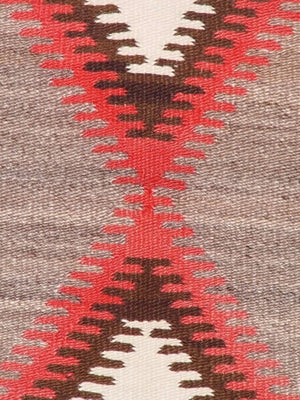 "Crystal Navajo Weaving : Historic : GHT 549 : 53"" x 80"" - Getzwiller's Nizhoni Ranch Gallery"