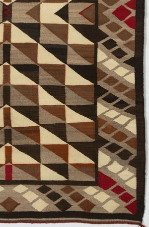 Optical Navajo Weaving : Historic : GHT 2202 : 41″ x 63″ - Getzwiller's Nizhoni Ranch Gallery