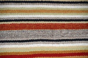 "Navajo Saddle Blanket - Double : weaver unknown : Nizhoni Ranch Gallery : SG 40 : 30"" x 61"""