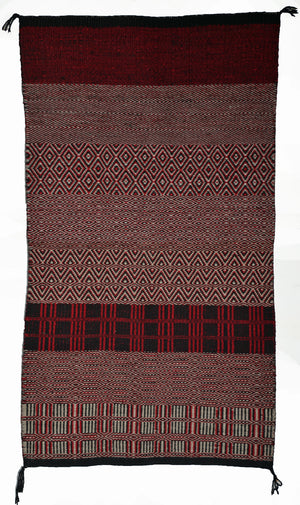 Twill Double Navajo Saddle Blanket : 3147