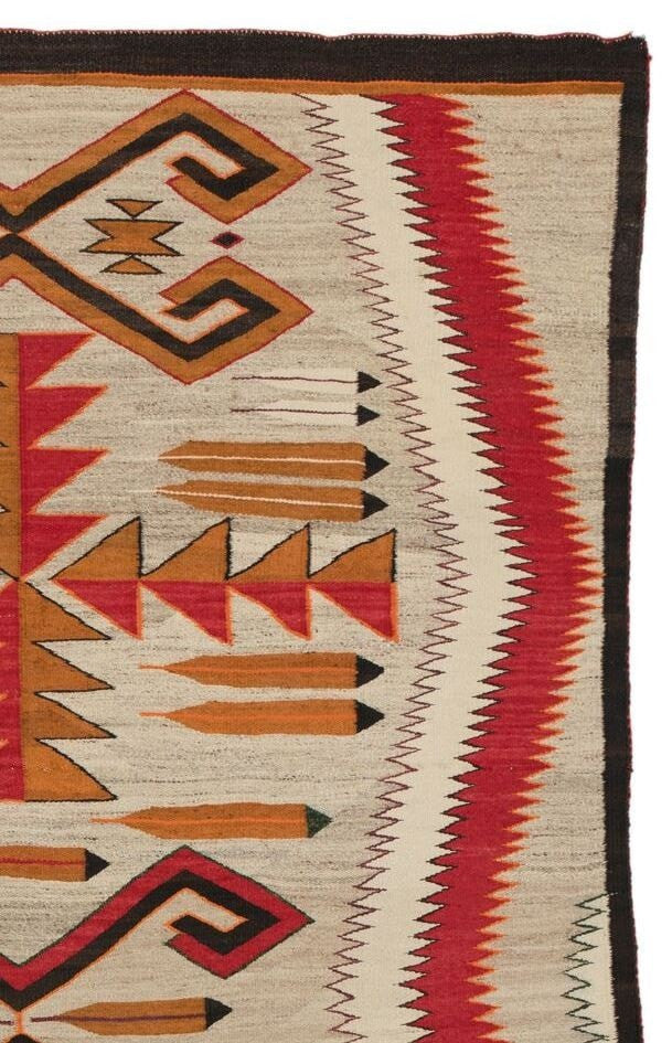 Teec Nos Pos Navajo Rug Weaving : Historic ; PC-80 - Getzwiller's Nizhoni Ranch Gallery