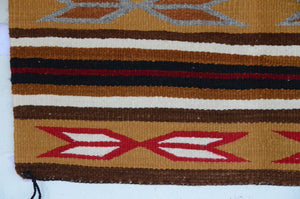 Navajo Saddle Blanket - Single: Agnes Tso  : Nizhoni Ranch Gallery : SG 12 - Getzwiller's Nizhoni Ranch Gallery