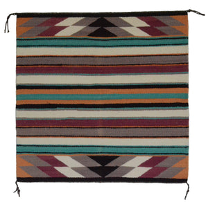 Navajo Saddle Blanket - Single: Charlott Yazzie  : Nizhoni Ranch Gallery : SG 17 - Getzwiller's Nizhoni Ranch Gallery