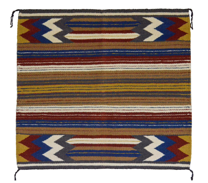 Navajo Saddle Blanket - Single : Charlotte Yazzie : Nizhoni Ranch Gallery : SG 20