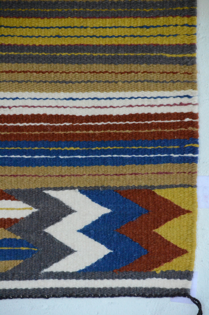 Navajo Saddle Blanket - Single : Charlotte Yazzie : Nizhoni Ranch Gallery : SG 20 - Getzwiller's Nizhoni Ranch Gallery