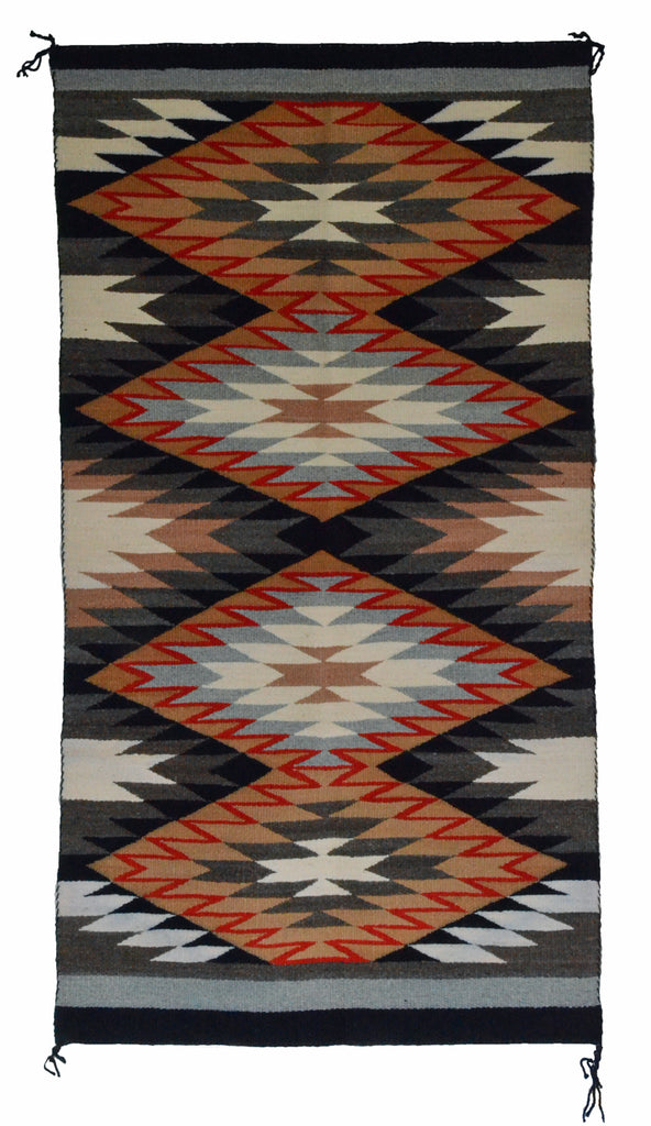 Navajo Saddle Blanket - Double : Rosemary P Bennie : Nizhoni Ranch Gallery : SG 23 - Getzwiller's Nizhoni Ranch Gallery