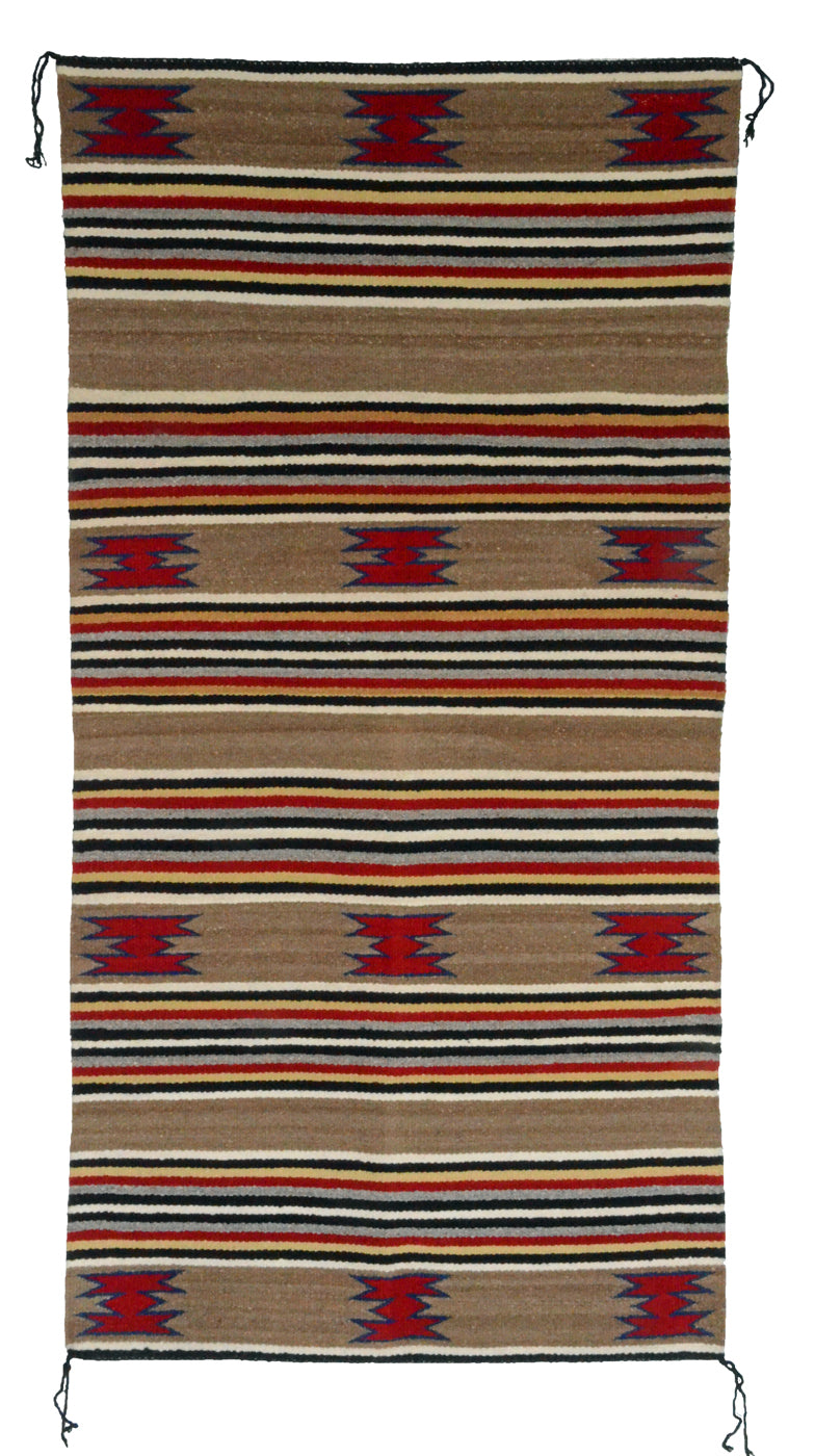 Navajo Saddle Blanket - Double : Mary Ben : Nizhoni Ranch Gallery : SG 25 - Getzwiller's Nizhoni Ranch Gallery