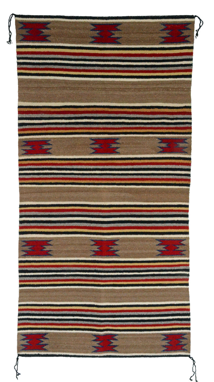 Navajo Saddle Blanket - Double : Mary Ben : Nizhoni Ranch Gallery : SG 25