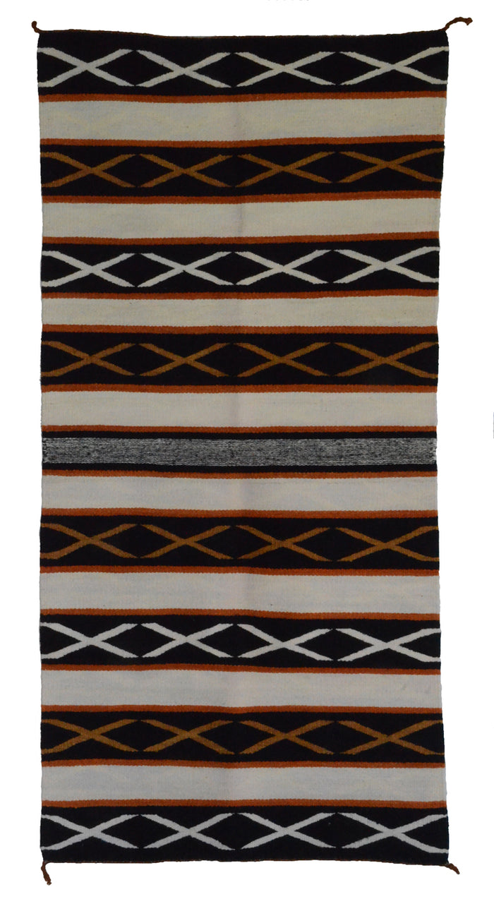 Navajo Saddle Blanket - Double : Rose Bennie : Nizhoni Ranch Gallery : SG 26