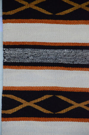 Navajo Saddle Blanket - Double : Rose Bennie : Nizhoni Ranch Gallery : SG 26 - Getzwiller's Nizhoni Ranch Gallery