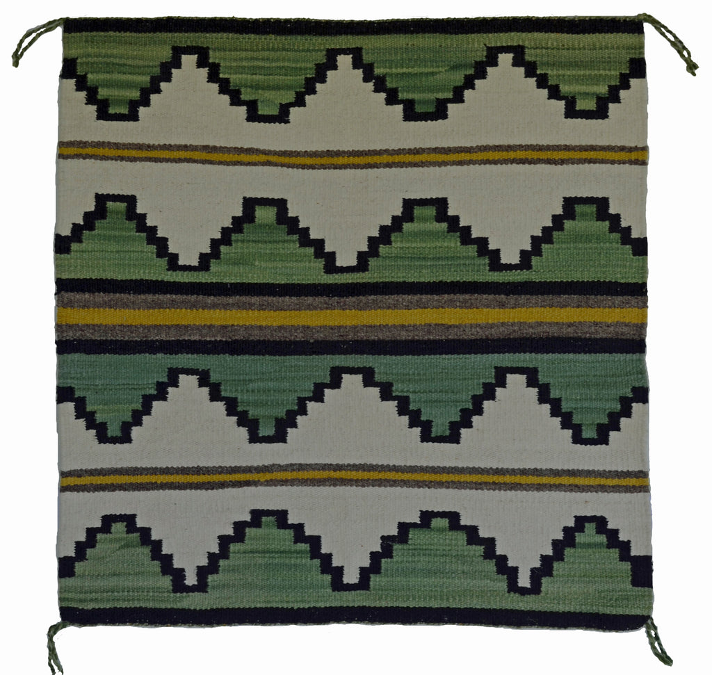 Navajo Saddle Blanket - Single : Rita Wolf : Nizhoni Ranch Gallery : SG 35 - Getzwiller's Nizhoni Ranch Gallery