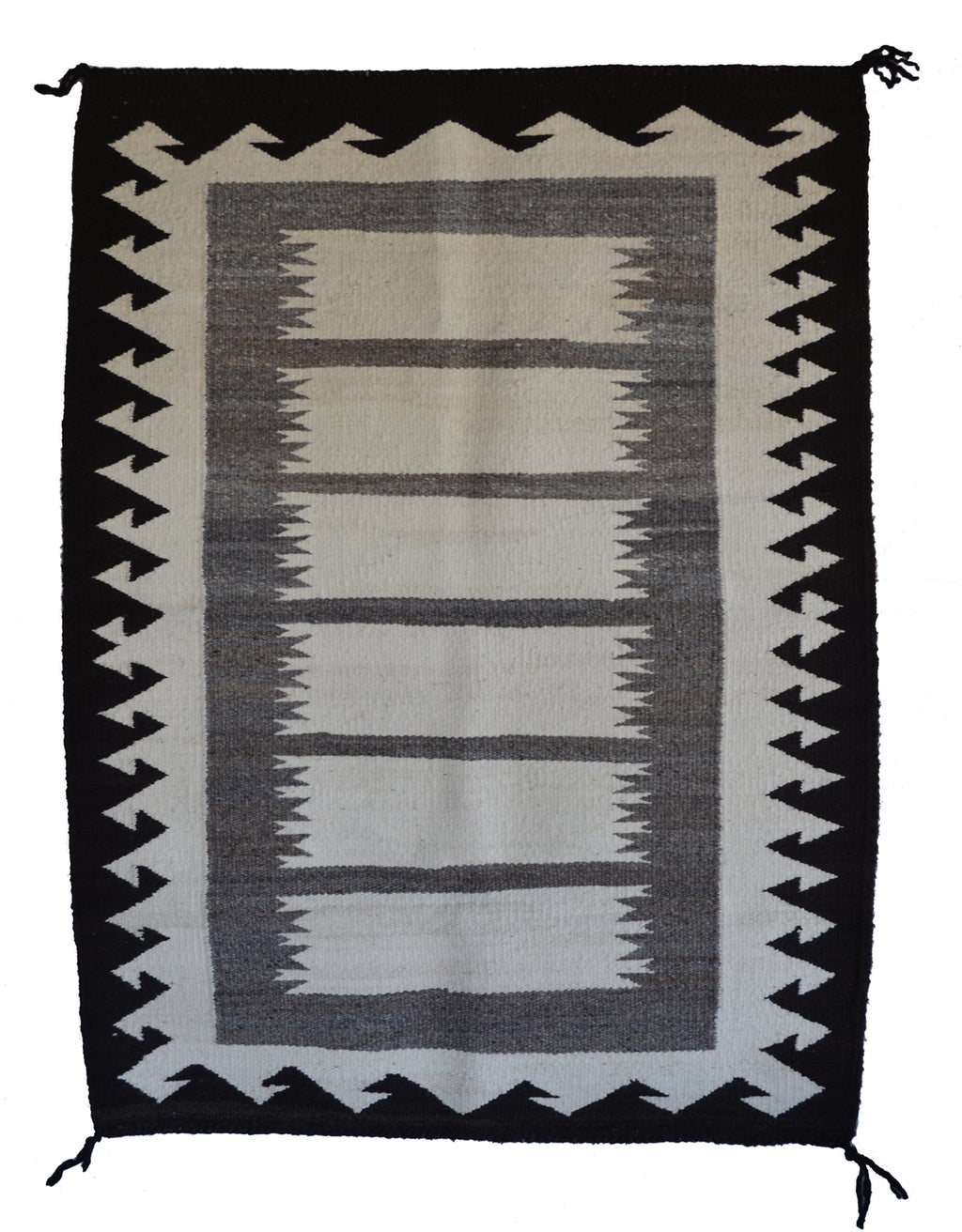 "Navajo Saddle Blanket - Double : Nizhoni Ranch Gallery : SG 36 : 34"" x 47"" - Getzwiller's Nizhoni Ranch Gallery"
