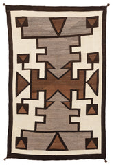 Hero Twin Teec Nos Pos Pictorial Navajo Weaving : Historic : GHT 2233