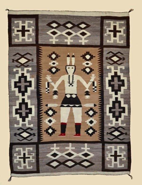 Yei Be Chei Dancer : Historic : GHT 2247 - Getzwiller's Nizhoni Ranch Gallery