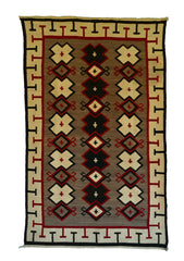 Crystal Navajo Weaving : Historic : GHT 2260